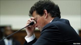 Tony Hayward testifies in front of US lawmakers