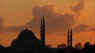 Ottoman-era mosque, Istanbul (6 December 2010)