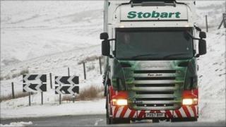 Eddie Stobart lorry (generic)