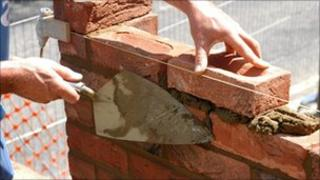 Brick-laying