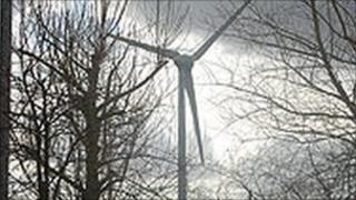 Green Park wind turbine