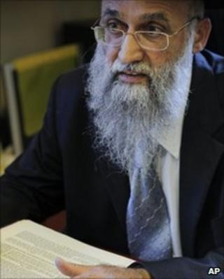Rabbi Mordechai Nagari from Maaleh Adumim settlement