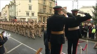 12 Logistic Support Regiment in Abingdon