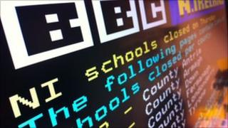 Ceefax page