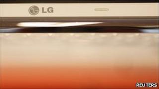 LG computer on sale, South Korea Oct 2010