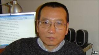 Chinese dissident Liu Xiaobo - file pic