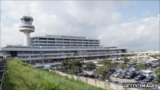 File picture of Murtala Muhammed international airport, Lagos, Nigeria