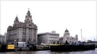 Liver buildings, Liverpool