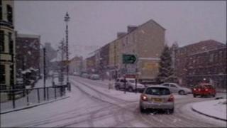 Snow in Derry
