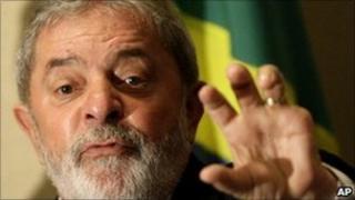 President Lula da Silva in Rio de Janeiro, 3 December 2010