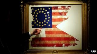 General Custer's flag