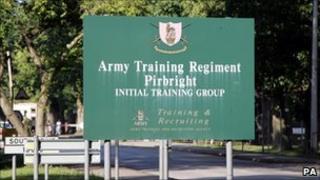 Pirbright Barracks