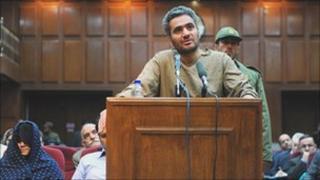Trial in Tehran, 21 November