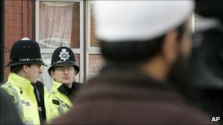 Police in Luton