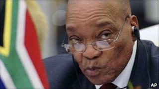 President Jacob Zuma in November 2010