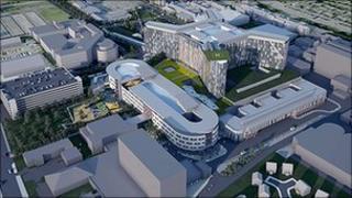 New South Glasgow Hospital