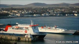 Steam Packet vessels on the Isle of Man