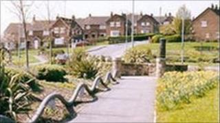 Plas Madoc Estate near Wrexham