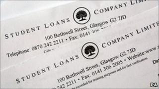 Student Loans Company letters