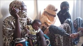 Rape victims in northern Somalia