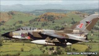 Tornado GR4. Pic: British Aerospace
