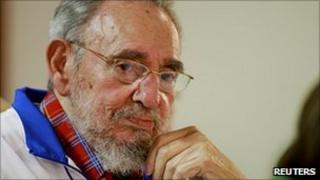Fidel Castro on 18 November 2010
