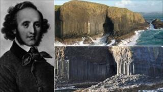 Felix Mendelssohn and Fingal's Cave