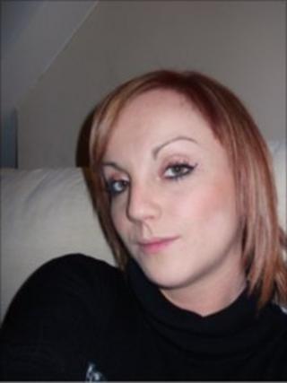 Nikola Shelley Jones, from Mynydd Isa, who died in a road collision in Pontfadog, Denbighshire