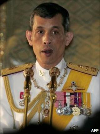 Crown Prince Vajiralongkorn