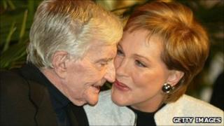 Blake Edwards with Julie Andrews