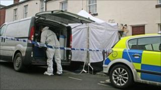 Incident scene