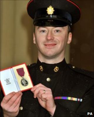 Warrant Officer Karl Ley