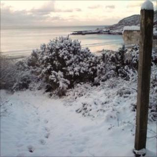 Pwlldu Bay on the Gower Peninsula