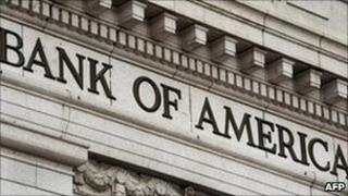 The facade of a Bank of America office in Washington. File photo