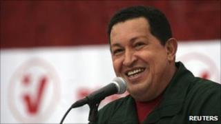 Venezuelan President Hugo Chavez (17 Dec 2010)