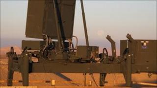 A military radar system