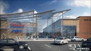 Tesco development proposed for West Bromwich