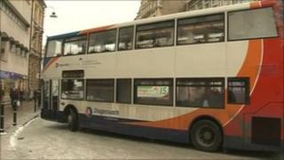 Bus in Cheltenham