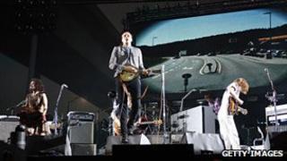 Arcade Fire in concert