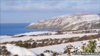 Snow on the Isle of Man