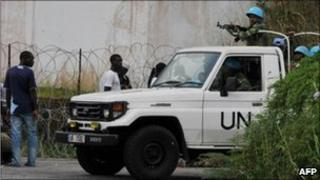 UN troops in Abidjan (20/12/10)