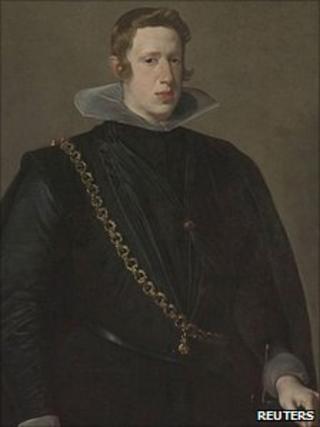Velazquez's King Philip IV