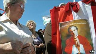 Commemoration of murdered priest Jerzy Popieluszko, 6 Jun 10