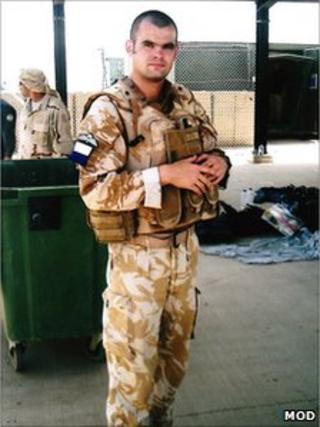 Corporal Steven Dunn