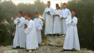 Samaritan men singing