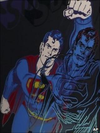 Andy Warhol's Superman