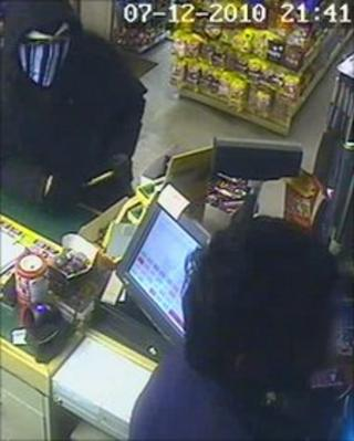 Sheerness robbery CCTV