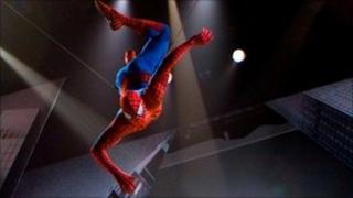 Spider-Man: Turn Off The Dark publicity shot