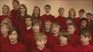 Jesus College choristers
