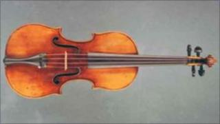 £1.2 million antique violin